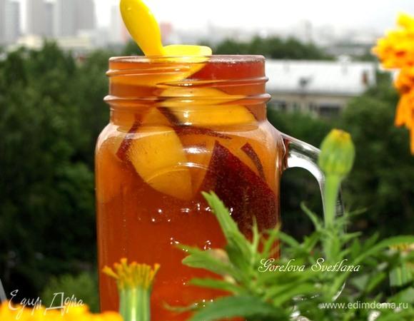 Фруктово-чайный лимонад