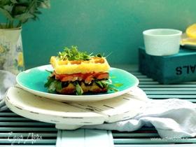 Сырные вафли для сэндвичей