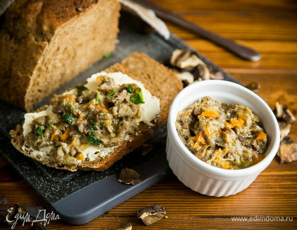 Рецепт икры из сушеных грибов