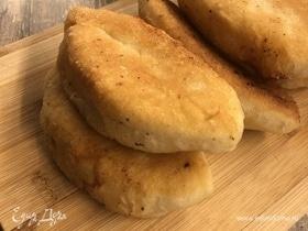 Пирожки с сыром и творогом