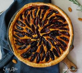 Сливовый пирог с франжипаном