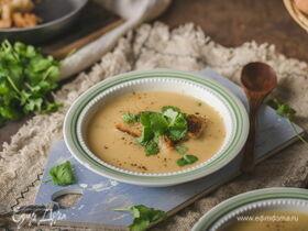 Крем-суп из вешенок со сливками