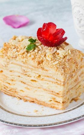 Любимый торт «Наполеон»